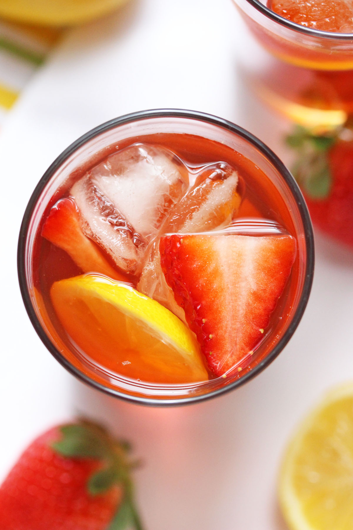 Strawberry Lemon Iced Tea